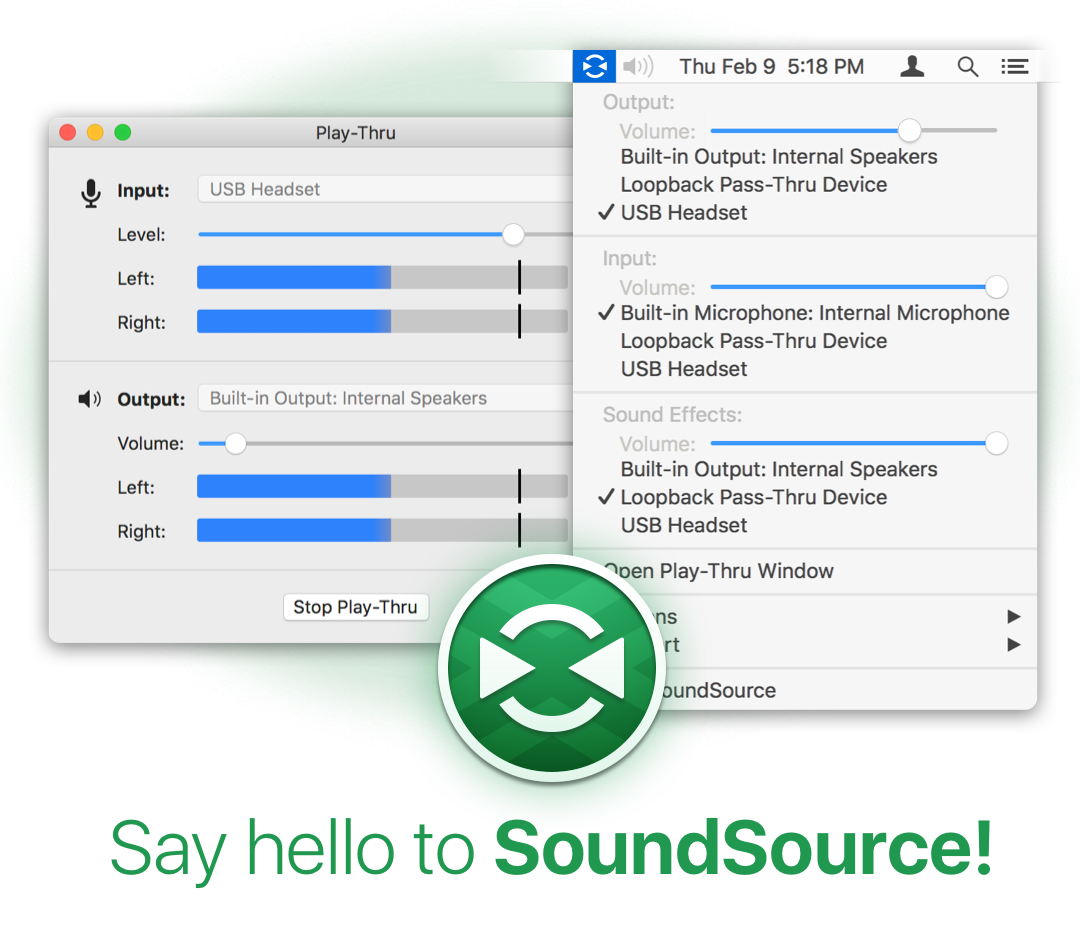 SoundSource Screenshot