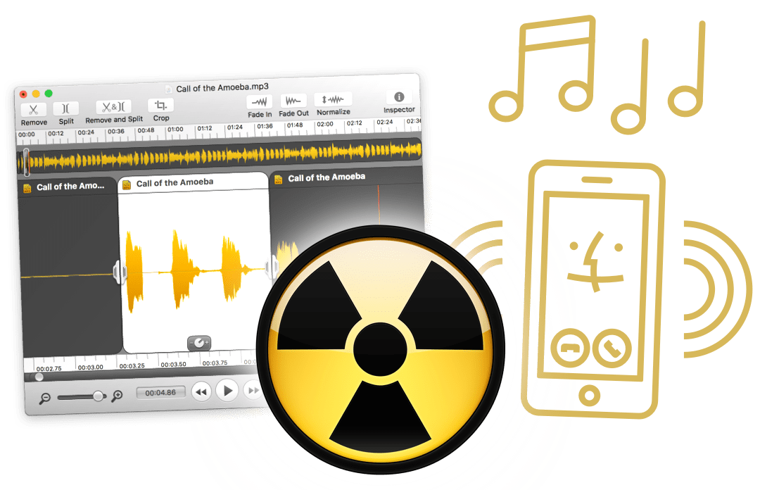 Save ringtones for iOS