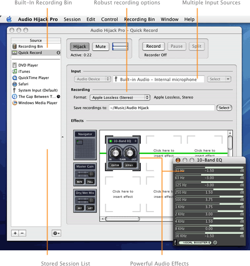 audio hijack pro mac os x