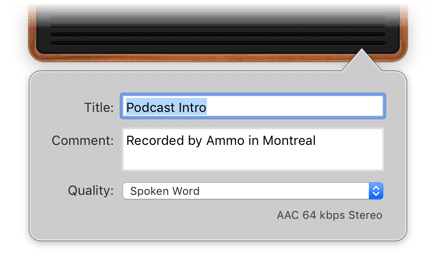 Rogue Amoeba | Piezo: Charmingly Simple Audio Recording